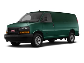 2020 GMC Savana 2500 Van Woodland Green