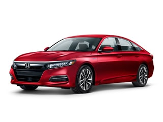 2020 Honda Accord Hybrid Sedan Radiant Red Metallic
