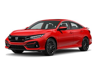 2020 Honda Civic Si Sedan Rallye Red