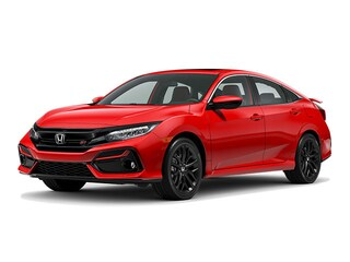 New 2020 Honda Civic Si Base w/Summer Tires Sedan 2HGFC1E54LH701198 for sale in Chicago, IL