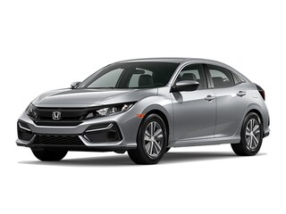 New 2020 Honda Civic LX Hatchback for Sale in Cockeysville, MD, at Anderson Honda