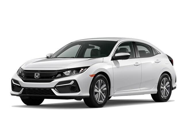 New 2020 Honda Civic LX Hatchback in San Jose