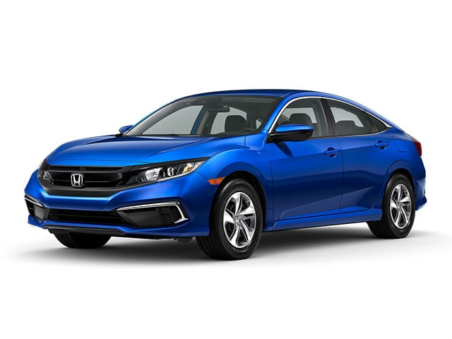 2020 Honda Civic Sedan Aegean Blue Metallic