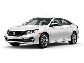 New 2020 Honda Civic EX Sedan 19XFC1F36LE018748 in Port Huron, MI