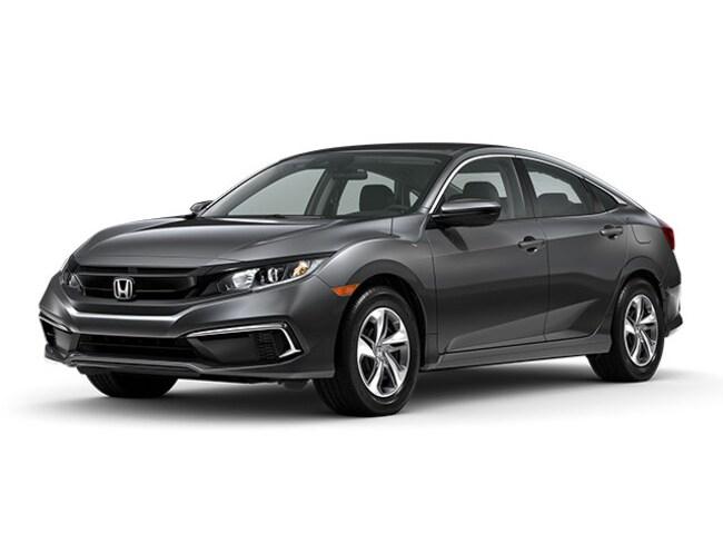 New 2020 Honda Civic LX Sedan in San Jose