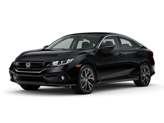 New 2020 Honda Civic Sport Sedan near San Diego