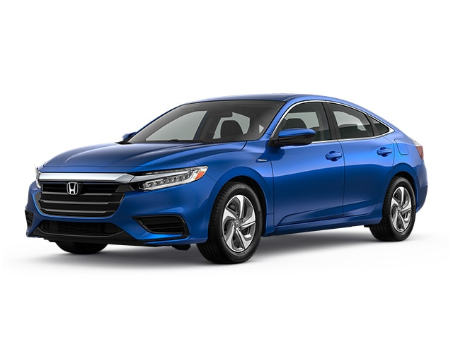 2020 Honda Insight Sedan Aegean Blue Metallic