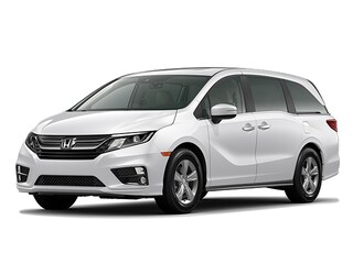 New 2020 Honda Odyssey EX-L Van 5FNRL6H73LB021286 for sale in Longmont, CO