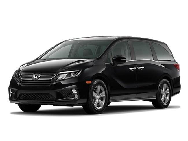 New 2020 Honda Odyssey EX-L w/Navi & RES Van Passenger Van Monroe