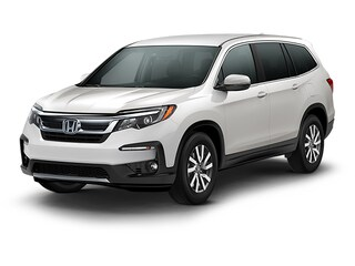 New 2020 Honda Pilot EX FWD SUV 5FNYF5H3XLB028360 for sale in Fairfield, CA at Steve Hopkins Honda