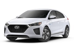 2020 Hyundai Ioniq Hybrid Blue Hatchback Car