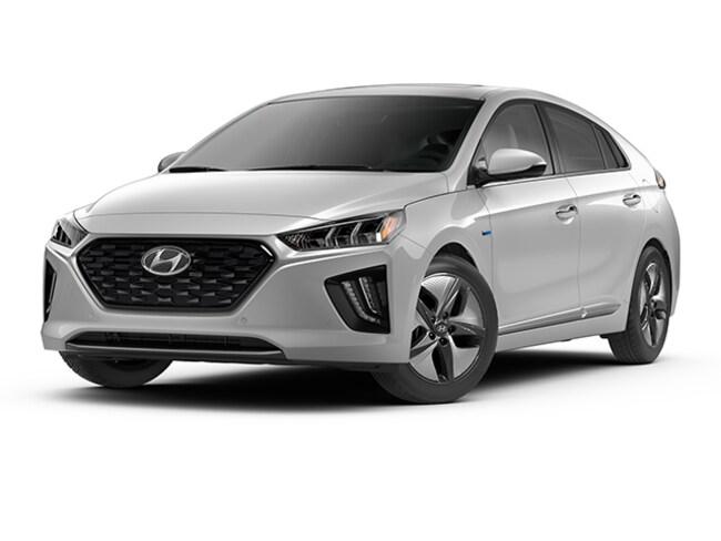 New 2020 Hyundai Ioniq Hybrid Limited Hatchback in Dublin, CA