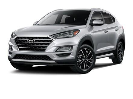 2020 Hyundai Tucson Limited SUV Stellar Silver