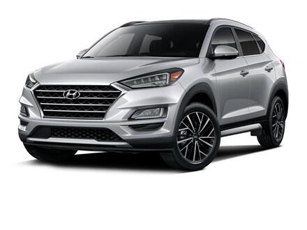 2020 Hyundai Tucson Ultimate SUV Stellar Silver