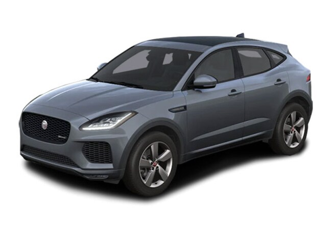 New 2020 Jaguar E-PACE Checkered Flag SUV For Sale Near Boston Massachusetts