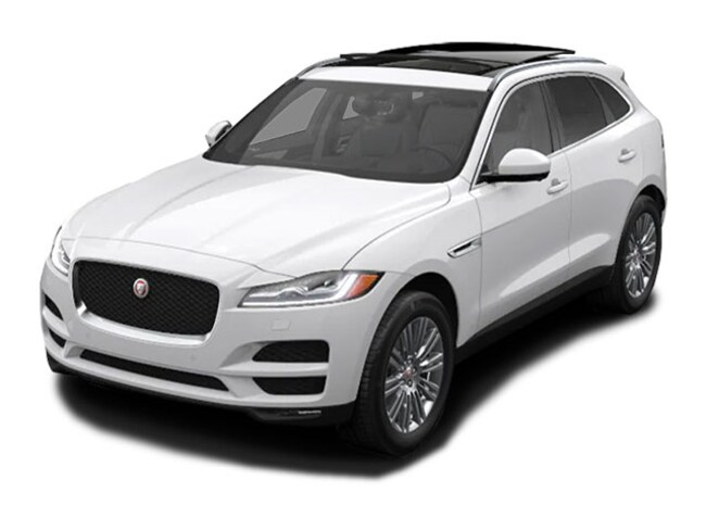 New 2020 Jaguar F-PACE Portfolio SUV in Troy