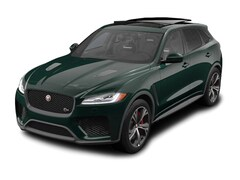 New 2020 Jaguar F-PACE SVR SUV near Boston