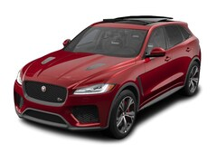 New 2020 Jaguar F-PACE SVR SUV near Boston, MA