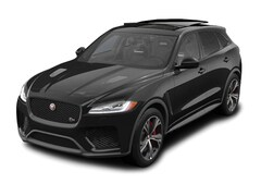 new 2020 Jaguar F-PACE SVR SUV for sale near Savannah