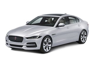 2020 Jaguar XE Sedan Yulong White Metallic