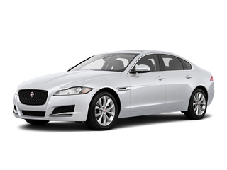 2020 Jaguar XF Sedan Yulong White Metallic