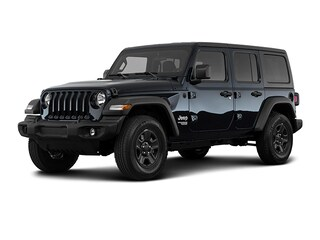 New 2020 Jeep Wrangler UNLIMITED BLACK AND TAN 4X4 Sport Utility