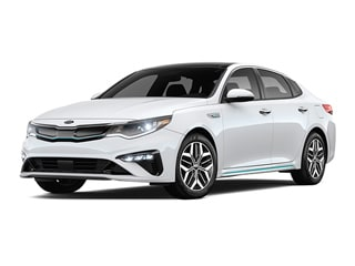 2020 Kia Optima Hybrid Sedan Snow White Pearl