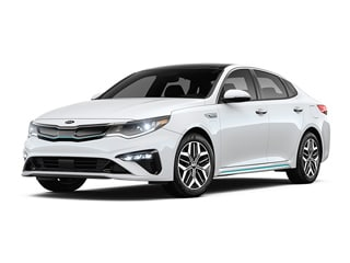 2020 Kia Optima Plug-In Hybrid Sedan Snow White Pearl