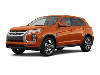 2020 Mitsubishi Outlander Sport CUV Sunshine Orange Metallic