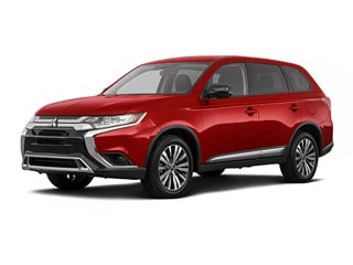 2020 Mitsubishi Outlander CUV Red Diamond