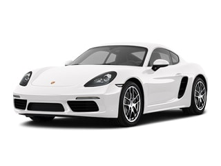 2020 Porsche 718 Cayman Coupe White
