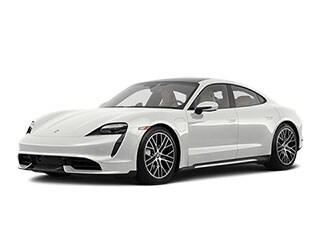 2020 Porsche Taycan Sedan White