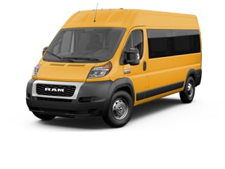 2020 Ram ProMaster 2500 Window Van School Bus Yellow