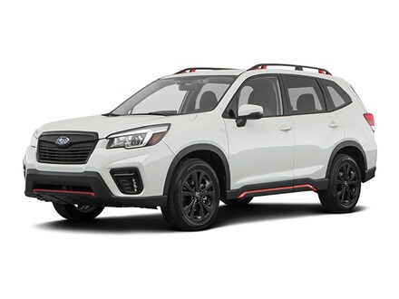 Featured new 2020 Subaru Forester Sport SUV for sale in Topeka, KS