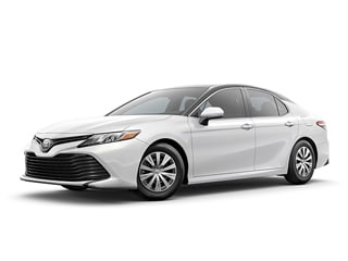 2020 Toyota Camry Sedan Wind Chill Pearl