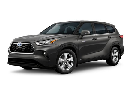 Featured New 2020 Toyota Highlander Hybrid LE SUV for sale in Corona, CA