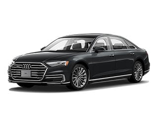 2021 Audi A8 Sedan Vesuvius Gray Metallic