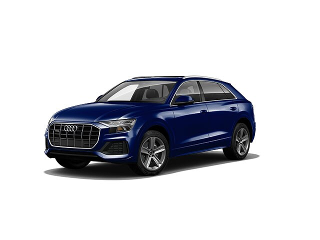 New 2021 Audi Q8 55 Premium SUV for sale in Allentown, PA at Audi Allentown