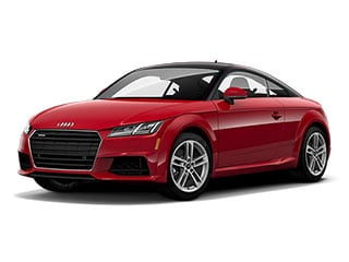 2021 Audi TT Coupe Tango Red Metallic Black Roof