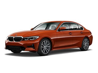 2021 BMW 330i Sedan Sunset Orange Metallic