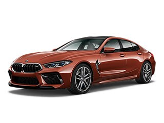 2021 BMW M8 Gran Coupe Motegi Red Metallic