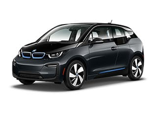 2021 BMW i3 Sedan Mineral Gray Metallic BMW i Frozen Blue Accent