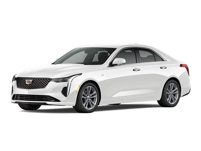 Used 2021 CADILLAC CT4 Luxury Sedan for sale in Houston