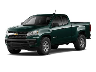 2021 Chevrolet Colorado Truck Woodland Green