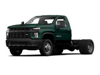 2021 Chevrolet Silverado 3500HD Chassis Truck Woodland Green