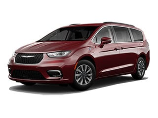 2021 Chrysler Pacifica Hybrid Van Velvet Red Pearlcoat
