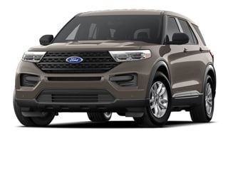 2021 Ford Explorer SUV Stone Gray Metallic
