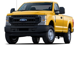 2021 Ford F-250 Truck Yellow
