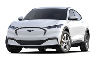 2021 Ford Mustang Mach-E SUV Star White Metallic Tri Coat