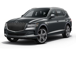 New 2021 Genesis GV80 3.5T Advanced Plus SUV for Sale in Conroe TX at Genesis of Conroe